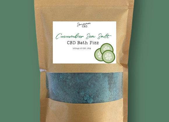 Cucumber Sea Salt Bath Fizz