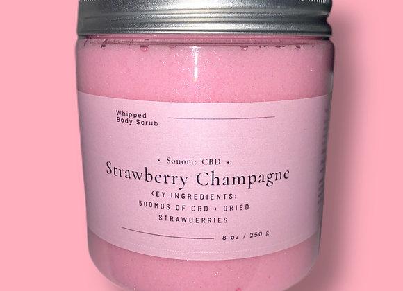 Strawberry Champagne Sugar Scrub