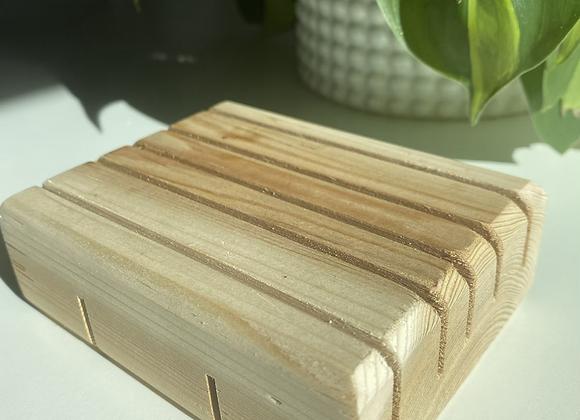 Handmade Wood Soap Tray