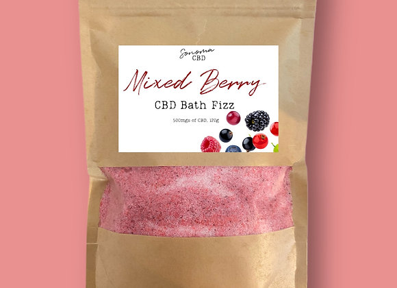 Mixed Berry Bath Fizz