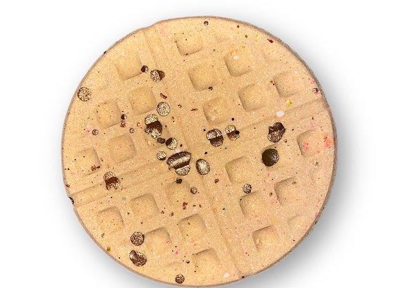 Chocolate Chip Waffle Bomb