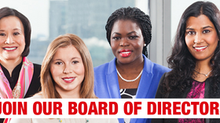 NOW OPEN: Board of Directors