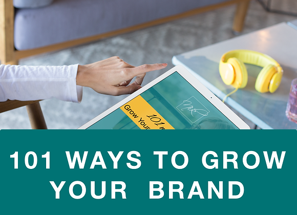 [EBOOK] 101 Ways to Grow Your Personal Brand