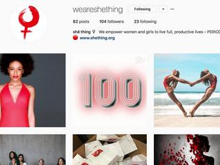 THANK YOU: 100 Instagram followers!