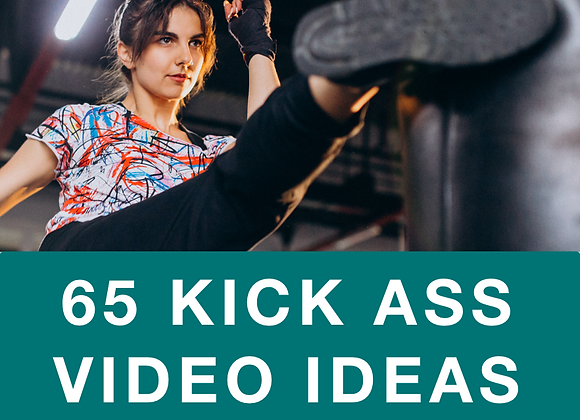 [EBOOK] 65 Kick Ass Video Ideas For Every Brand