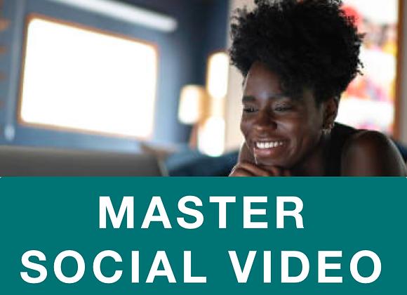 [EBOOK] Master Social Video