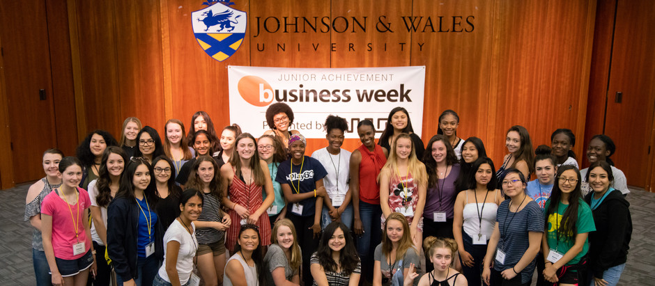 Scenes from Junior Achievement Business Week