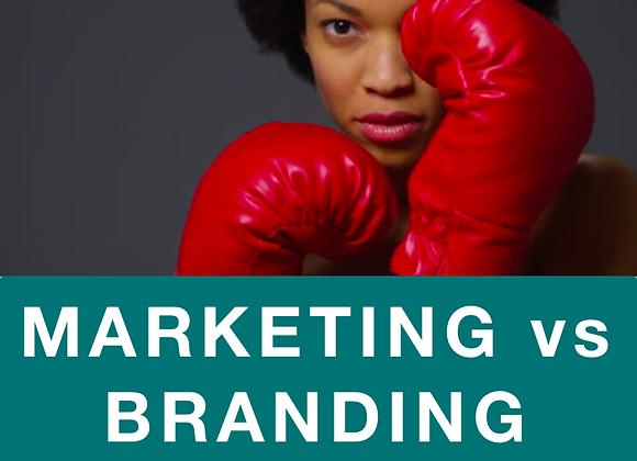 [TRAINING] Marketing vs Branding