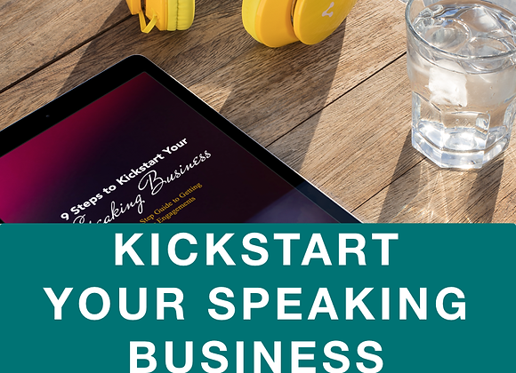 [EBOOK] 9 Steps to Kickstart Your Speaking Business