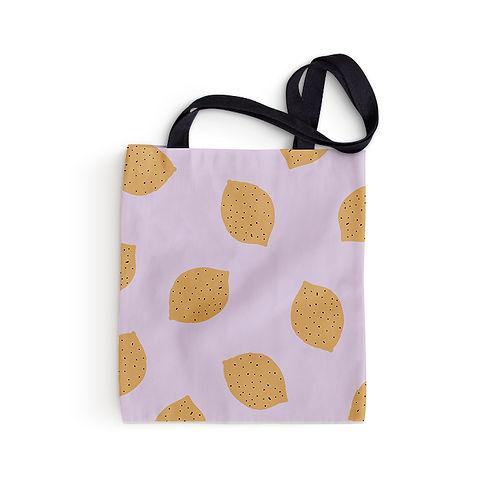 Zitronen-Einkaufstasche