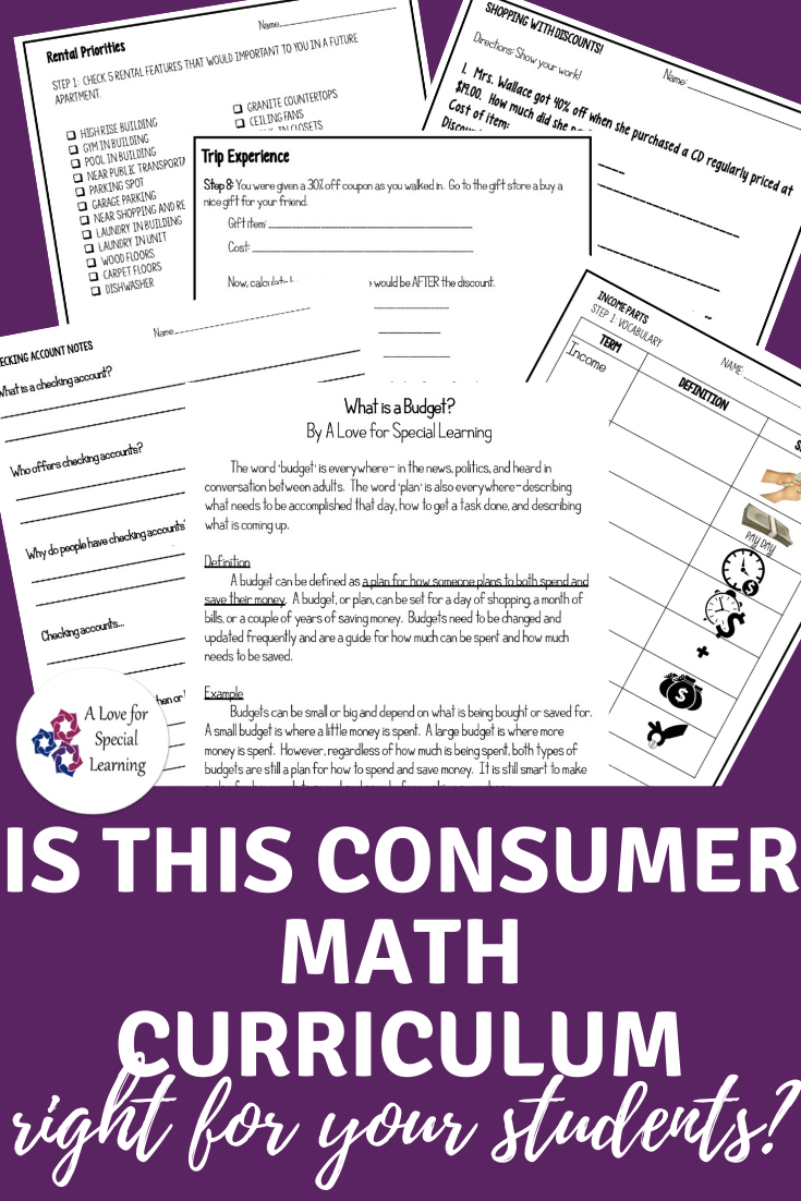 Is this consumer math curriculum right for your students?