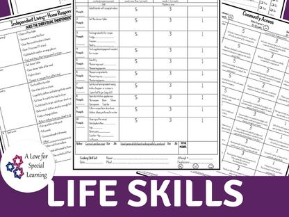 Life Skill Rubrics and Checklists You Need