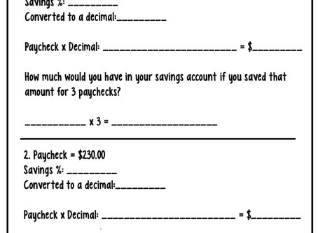 How to Teach About Savings Accounts