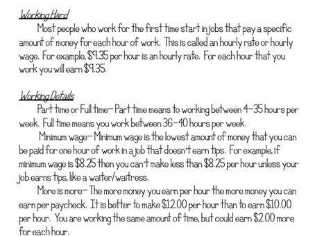 How to Teach Income