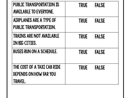 How to Teach Public Transportation