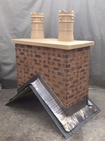 Bespoke Chimney with new style pots_edit