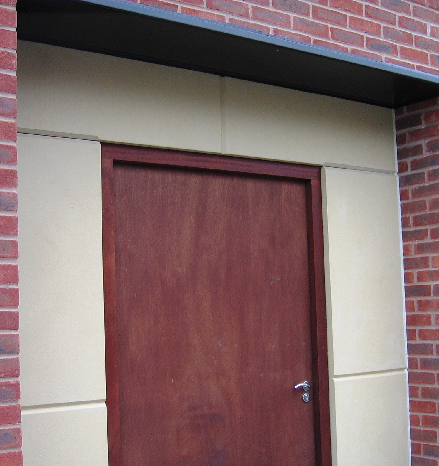Stone Effect Door Surround with Minster Joints