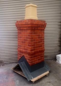 Trowse Chimney - Square Pot - Haunched C