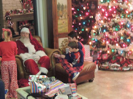Christmas Eve Visits