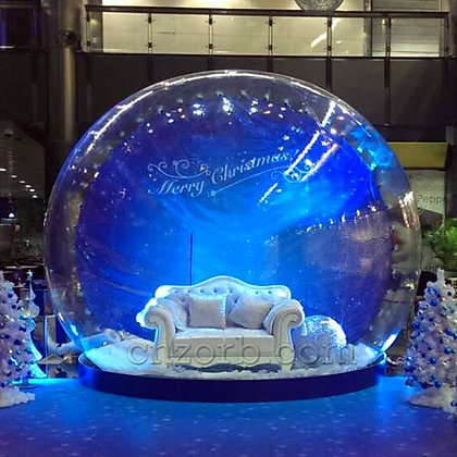 Inflatable Snow Globe Santa - 3 hours