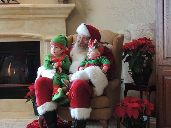 Santa Visit to your home or neighborhood
