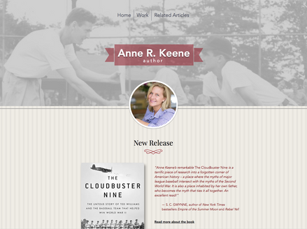 Anne Keene, Author