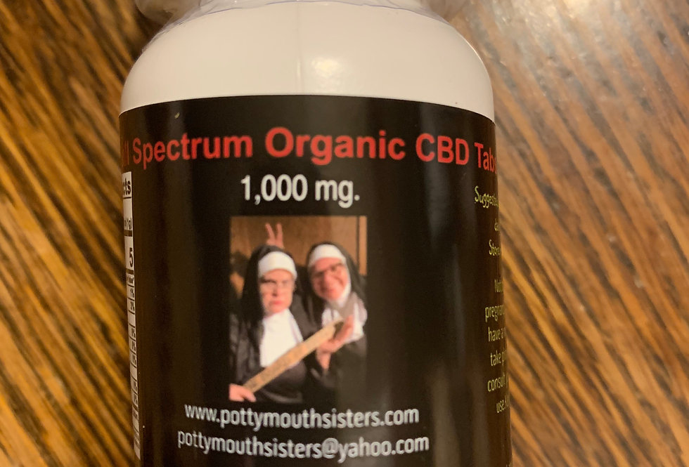 Full Spectrum CBD Capsules - 1,000 mg. (30 ct.)