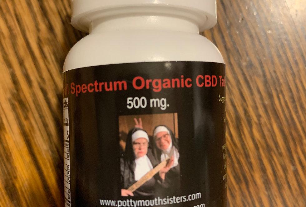 Full Spectrum CBD Capsules - 500 mg. (30 ct.)