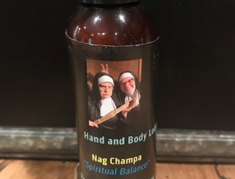 Nag Champa Hand and Body Lotion (4 oz.)