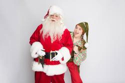 Santa & Ellie the elf