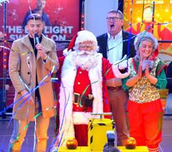 Santa with Jake Quickenden