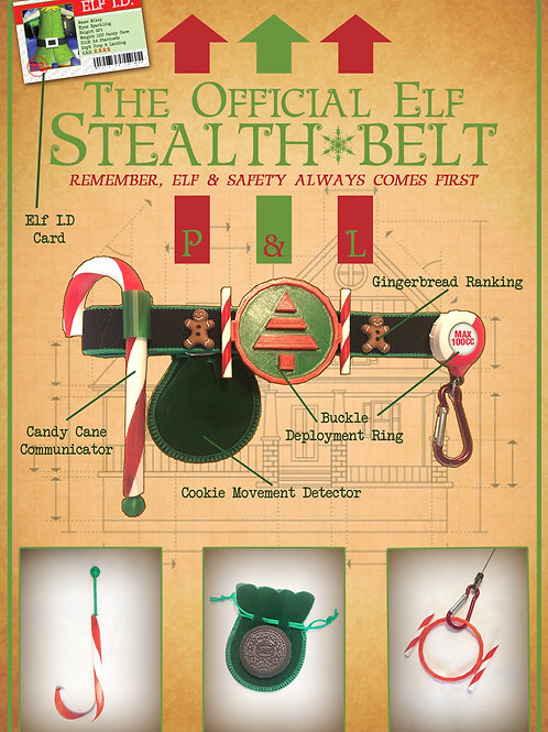 The Elf Stealth belt