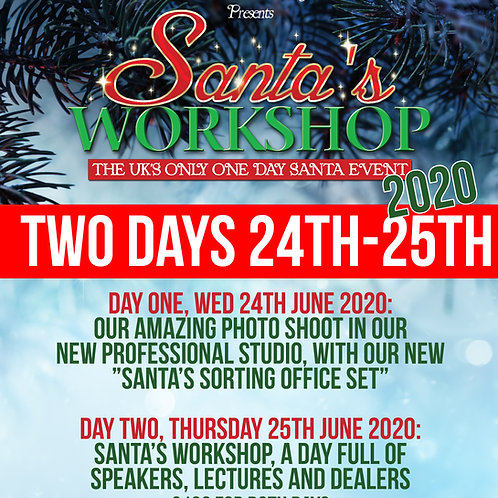 Santa' Workshop full two day ticket 24th-25th June