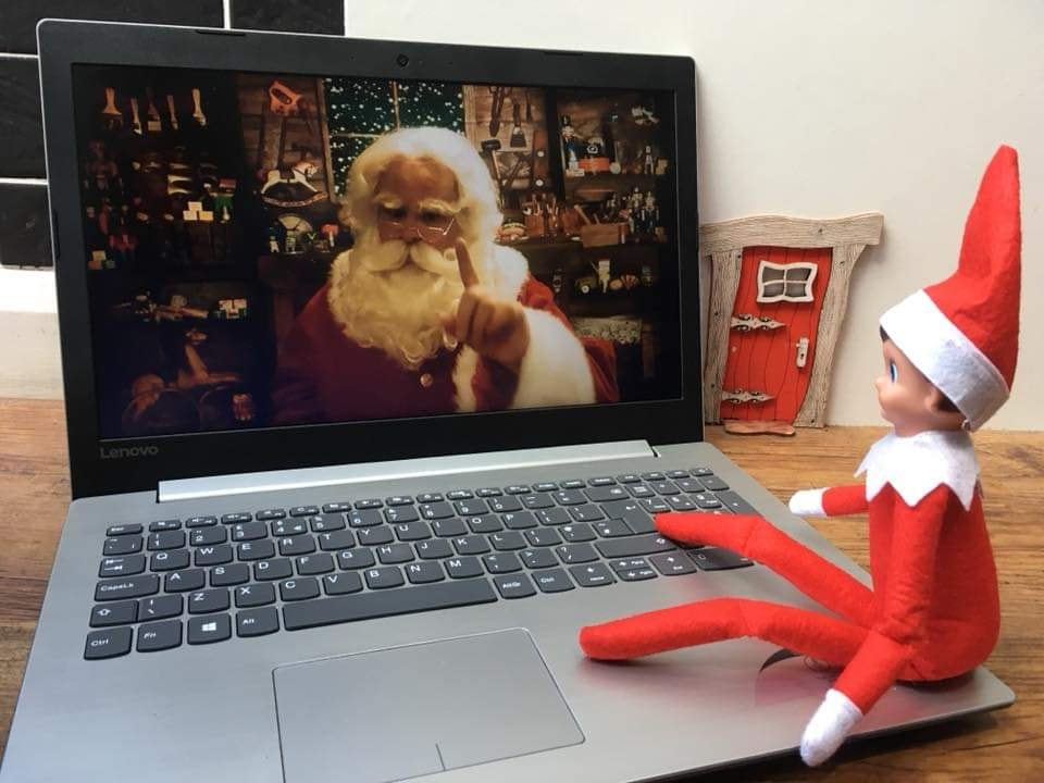 A video message from Santa