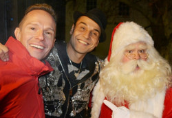 Ely Christmas light switch on