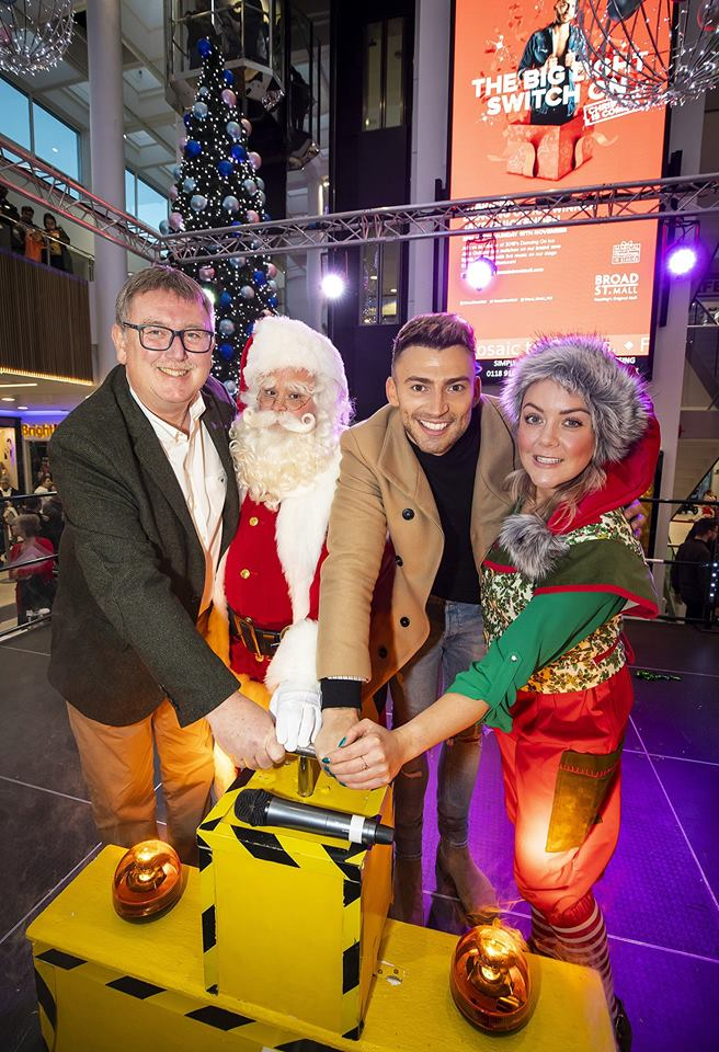 Santa with Jake Quickenden