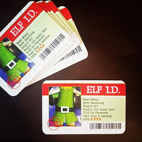 Elf I.D Cards
