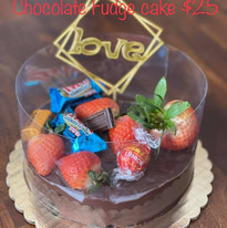 Chocolate Fudge Cake $25