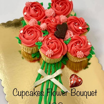 Cupcake Flower Bouquet $20