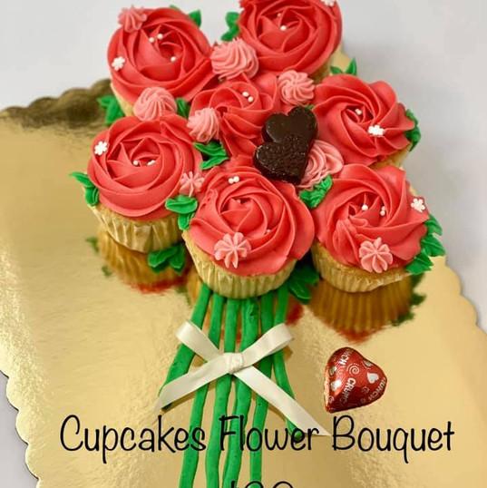 Cupcake Flower Bouquet $20