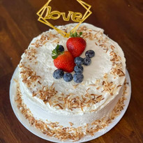 Thai Coconut Cake $25