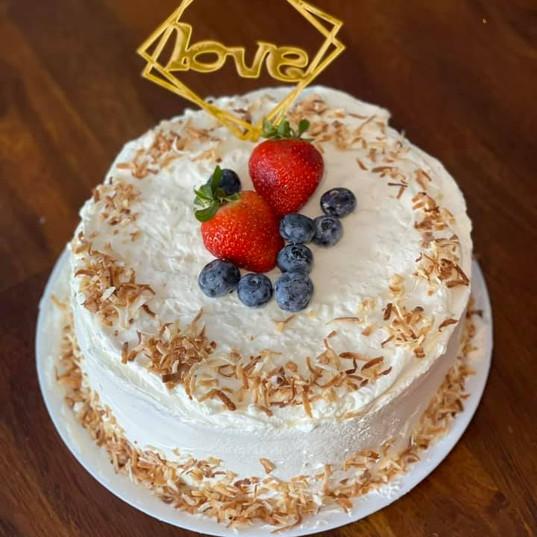 Thai Coconut Cake $25