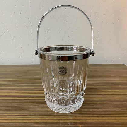 Seau a glaçons en cristal d'arques - N036