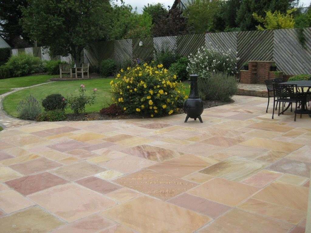 Modak Indian Sandstone Patio