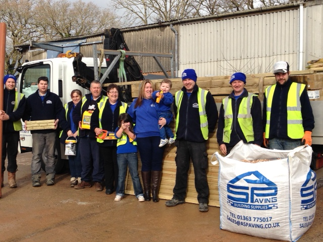 The A&S Paving Team Builders Merchants Crediton, Devon