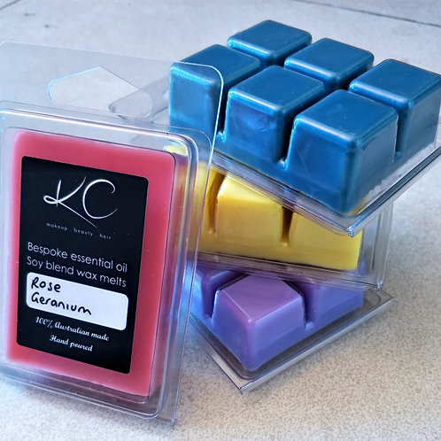 Aromatherapy infused soy blend wax melts