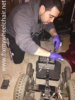 wheelchair battery repair