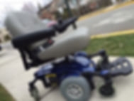 electric wheelchair parts