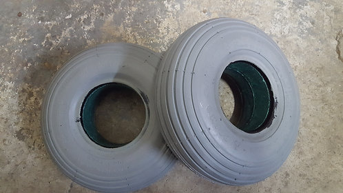 3.00-4 Foam Filled Tires Flat-Free