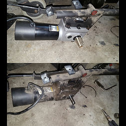 wheelchair motor replacement